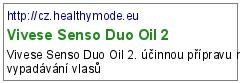Vivese Senso Duo Oil 2